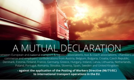 A Mutual Declaration on exclusion of international transport from PWD